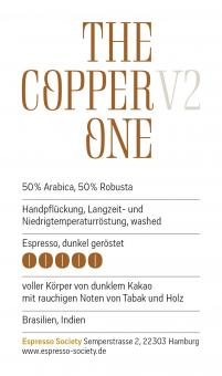 The Copper One V2 - 1kg