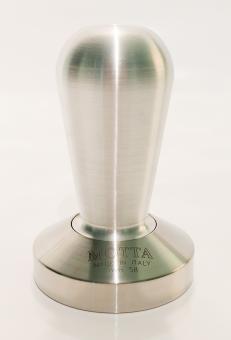 Motta Tamper aus Aluminium und Edelstahl 58mm